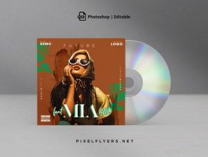 Future Beat Free Mixtape CD Artwork Cover Template (PSD)