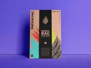 Herbal Bag Packaging Free Mockup