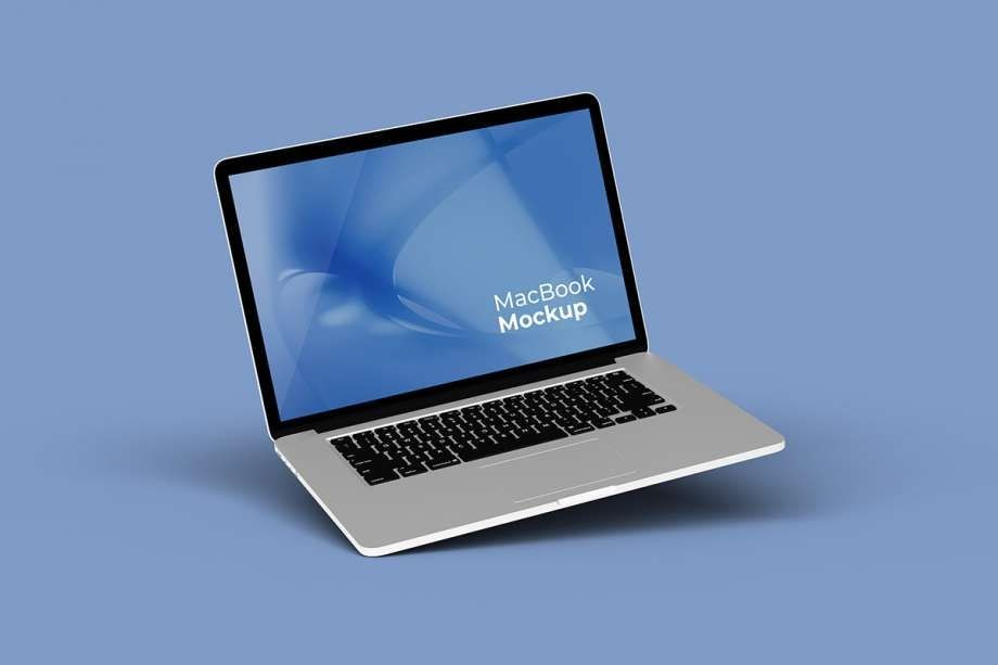 Macbook Pro Free Mockup Set