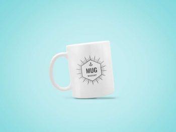 Minimal Coffee Mug Free Mockup
