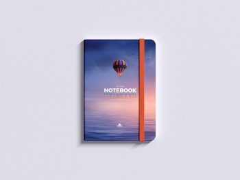 Minimal Notepad Free Mockup (PSD)