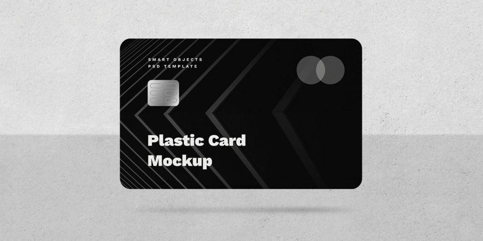 Minimalist Credit Card Free Mockup