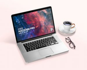 Minimalist MacBook Pro Free Mockup