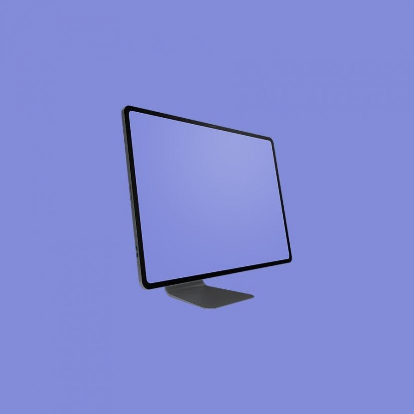 Minimalist iMac Pro Free Mockup