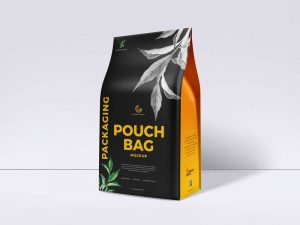 Pouch Bag Packaging Free Mockup