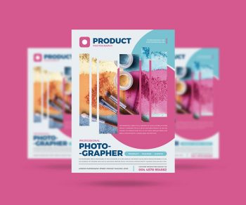 Product Photography Free PSD Flyer Template