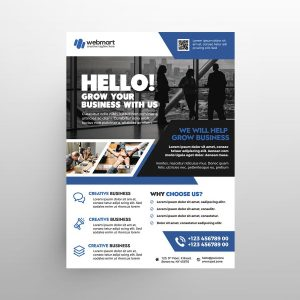 Professional Business Free Flyer Template (PSD)