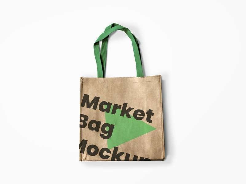 Reusable Market Bag Free Mockup