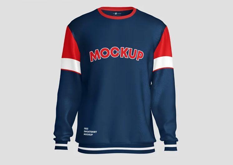 Sweatshirt Free Mockup (PSD)