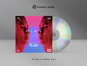 Through My Eyes Free Mixtape CD Artwork Cover Template (PSD)