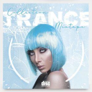 Trance Vibe Free Mixtape CD Cover Art Template (PSD)