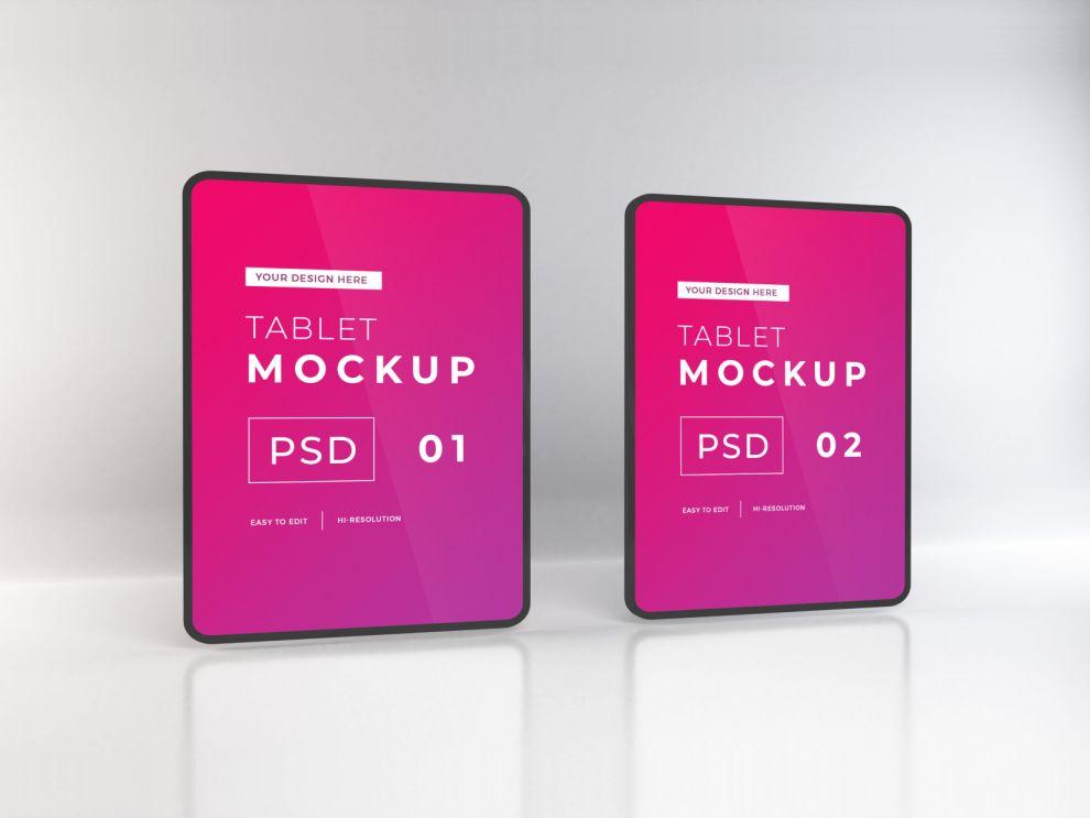 2 iPad Free Mockups