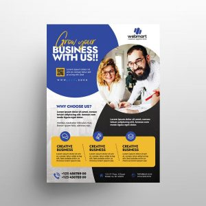 Business Ad Free Flyer Template (PSD)