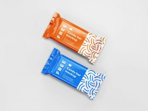 Candy Bar Free Mockup (PSD)