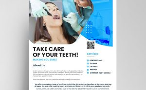Dental Ad Free Flyer Template (PSD)