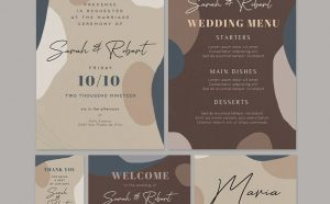 Free Wedding Invitation Flyer & Card Templates