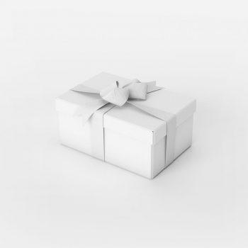 Gift Box Set Free Mockup (PSD)