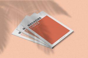 Magazone Cover A4 Free Mockup