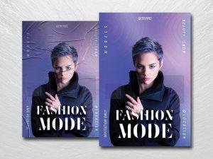 Minimalist Fashion Mode Free Flyer Template (PSD)