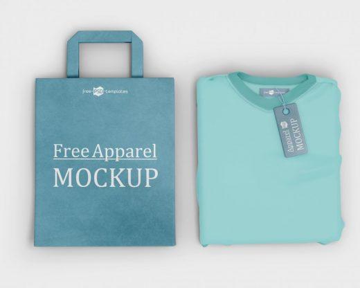 Apparel Free Mockups (PSD)