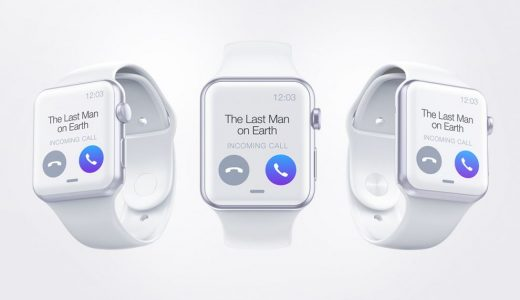 Apple Watch Free Mockup (PSD)