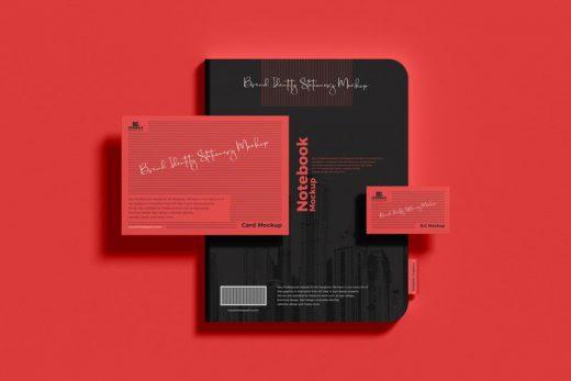 Brand Identity Stationery Free Mockup