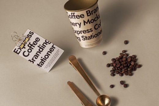 Branding Coffee Set Free Mockup (PSD)