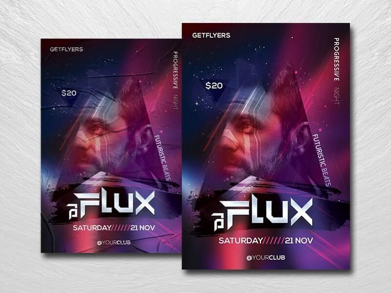 DJ Clubnight Free Flyer Template (PSD)