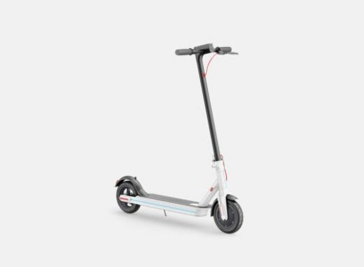 Electric Scooter Free Mockup