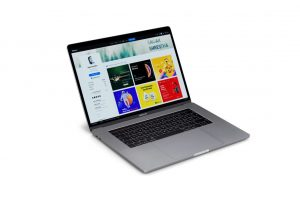 Free 5 Macbook Pro Mockups