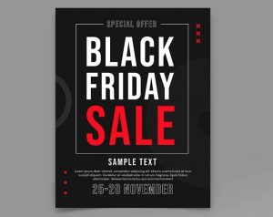 Free Black Friday Sale 2020 Flyer Template (PSD)