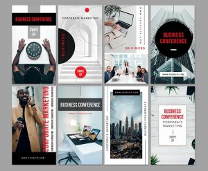 Free Conferences Instagram Stories Templates