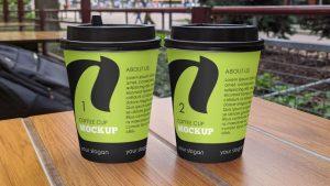 Matte Coffee Cup Free Mockup (PSD)