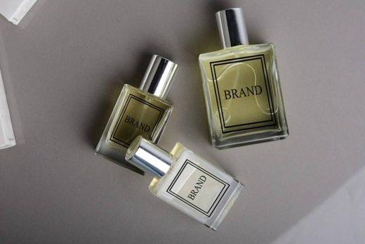 Perfume Bottle Free Mockup (PSD)