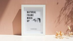 Photo-Realistic Frame Free Mockup