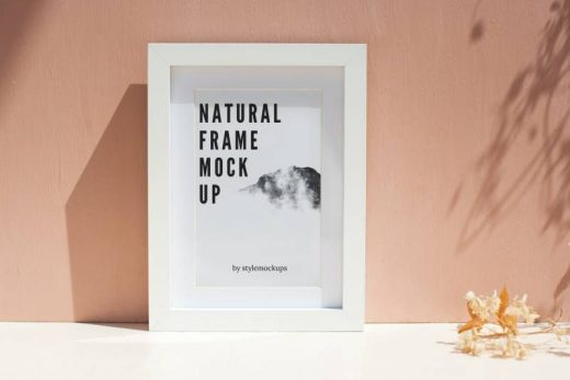 Photo-Realistic Frame Free Mockup