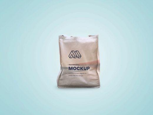 Reusable Bag Free Mockup (PSD)