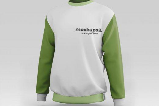Sweatshirt Front & Back Free Mockup