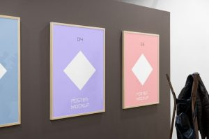 Triple Poster Free Mockup (PSD)