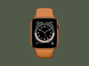 Apple Watch Series 6 Free Mockup
