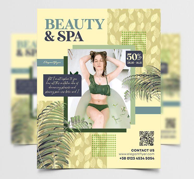 Beauty & Spa Free Flyer Template (PSD)