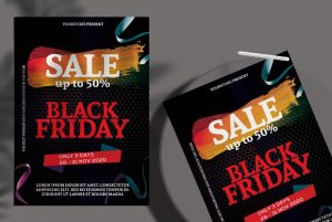 Black Friday Sale Free Flyer Template (PSD)