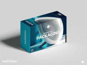 Box Packaging Free Mockup