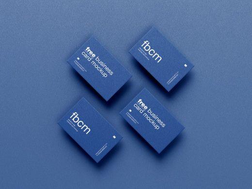 Business Card Free Mockup Set
