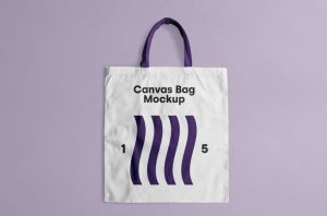 Canvas Tote Bag Free Mockup