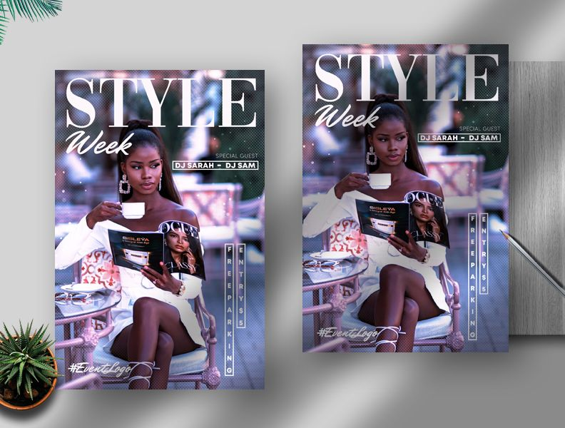 Fashion Photography Free PSD Flyer Template