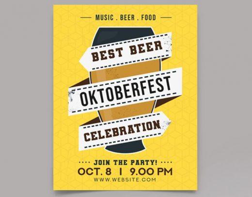 Free OktoberFest 2020 Flyer Template (PSD)