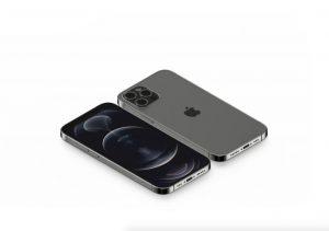 Isometric iPhone 12 Pro Free Mockup