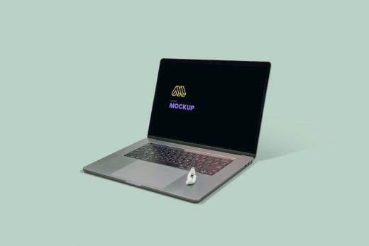 Modern Laptop Free Mockup
