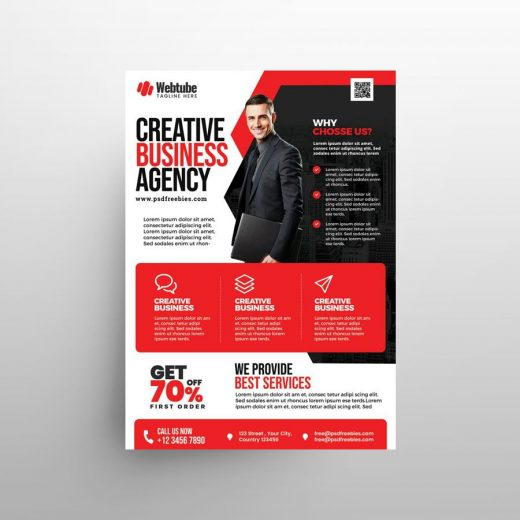 Multipurpose Business Ad Free Flyer Template